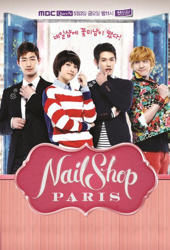 Nail دکان Paris
