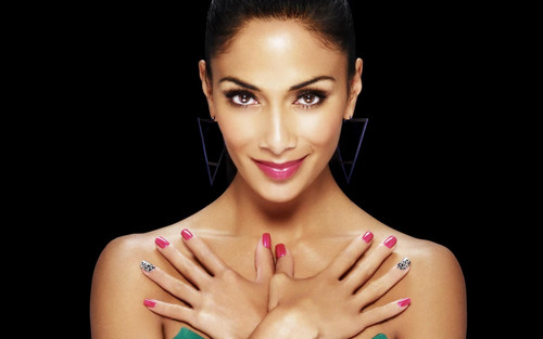 Nicole Scherzinger پیپر وال probably containing skin and a portrait entitled Nicole Scherzinger