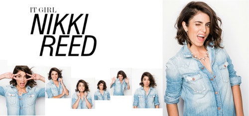 Nikki for the '7 For All Mankind' 2013 campaign [+ Mattlin Era jewelry collection]