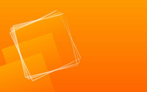 orange fond d'écran