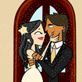 Our wedding - total-drama-island fan art