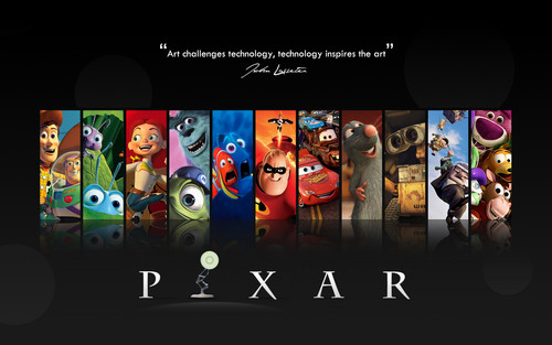 Pixar wallpaper probably containing a stained glass window and anime called PIXAR