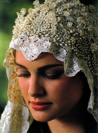 Padmé in a wedding dress