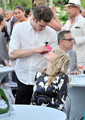 Peace, Love & A Cure Triple Negative Breast Cancer Foundation Benefit - andrew-garfield-and-emma-stone photo