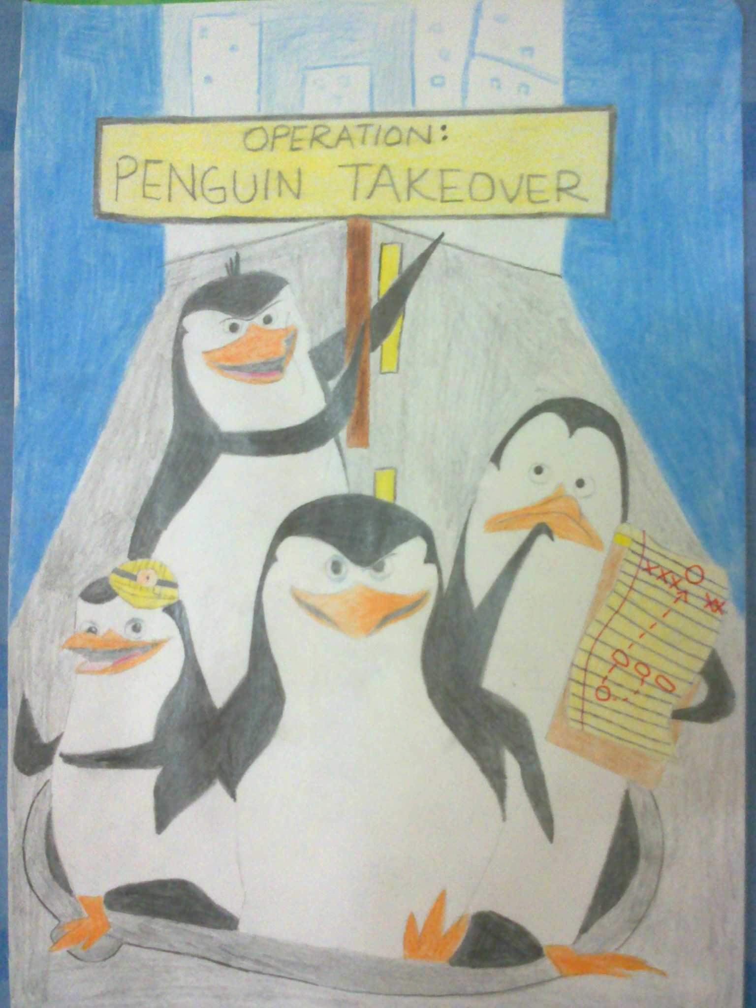 The Penguins of Madagascar: Operation Penguin Takeover ...