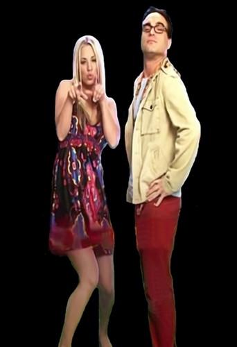Penny and Leonard-Johnny and Kaley
