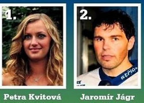Petra Kvitova Jaromir Jagr