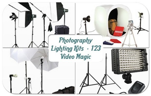 fotografia Lighting Kits