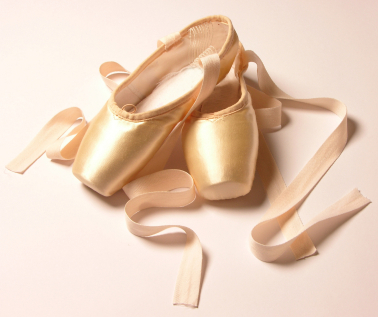 گلابی Ballet Shoes