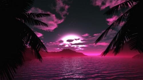 गुलाबी चित्र