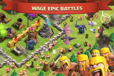 Play Clash of Clans Game Online -coc