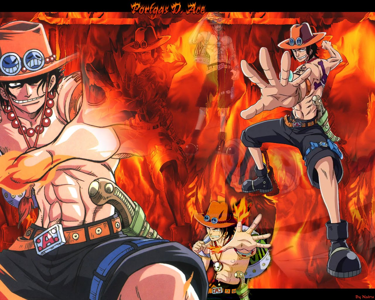 Portgas D Ace 3 One Piece Wallpaper 34540764 Fanpop