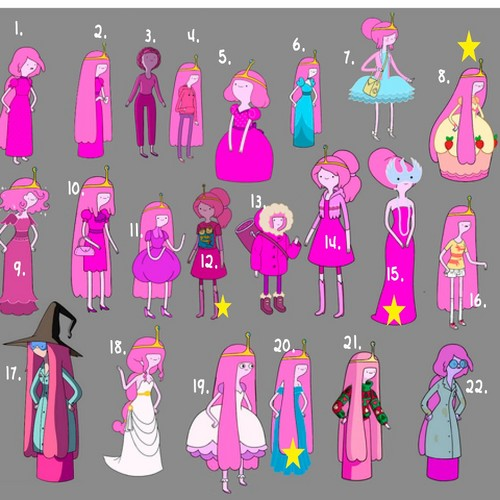 Adventure Time With Finn and Jake wallpaper titled Princess bubblegum clothes