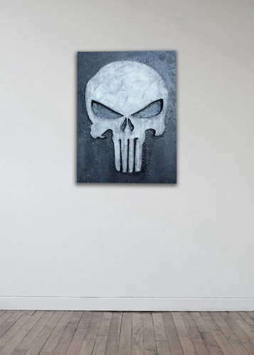 Punisher muro Art