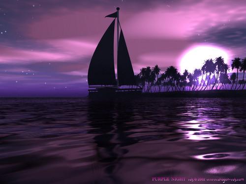 Purple wolpeyper