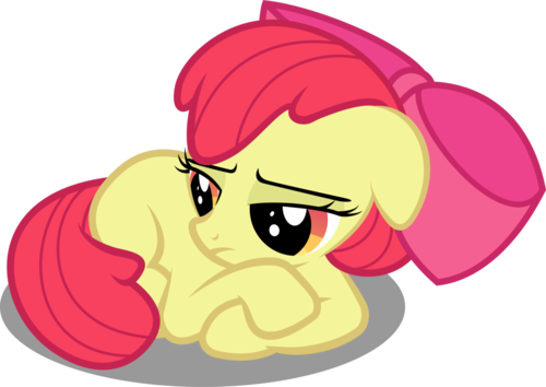 R-34 pics make Applebloom sad!