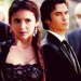 R8 - Fave male & female - Damon & Elena - ohioheart_graphics icon