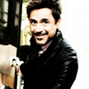 Robert Downey Jr. photo possibly containing a portrait called RDJ