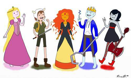যেভাবে খুশী Pictures of Adventure Time