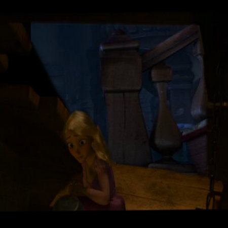 Rapunzel Sneaking Out