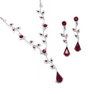 Red Hintergrund called Red Ruby Jewelry