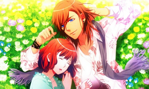 Uta no Prince-sama wallpaper probably containing anime entitled Ren & Haruka