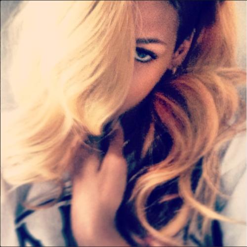 Rihanna on instagram