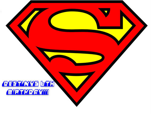 Superman kertas dinding called Superman LOGO 2