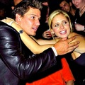Sarah Michelle Gellar and David Borenanaz  - david-boreanaz fan art
