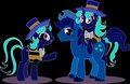 Shim Sham sisters is G-major - my-little-pony-friendship-is-magic fan art