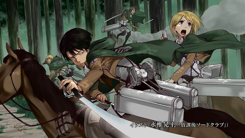 Shingeki no Kyojin [episode 7 - end card]