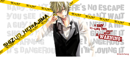 Heiwajima Shizuo wolpeyper probably containing a business suit called Shizuo