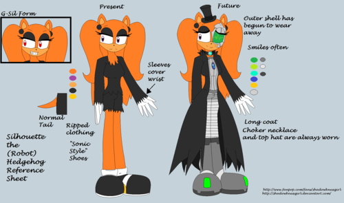 Silhouette reference sheet