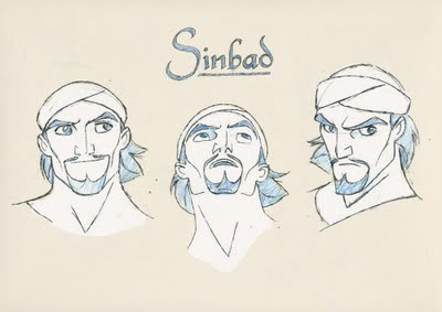 Sinbad: The Legend of the Seven Seas Character Designs