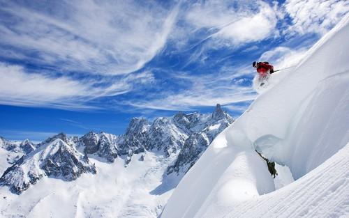 trượt tuyết in France