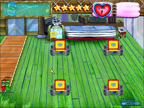 SpongeBob SquarePants: commensale, diner Dash