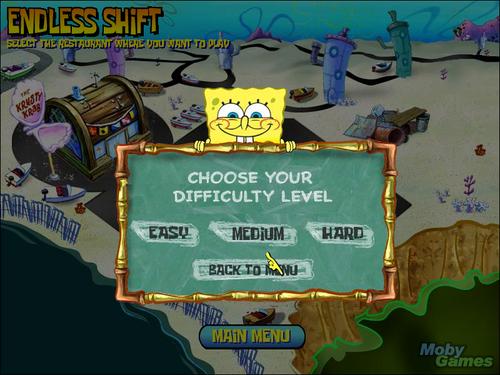 SpongeBob SquarePants: भोजन करनेवाला, डिनर Dash
