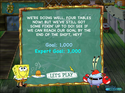SpongeBob SquarePants: cena, comedor Dash