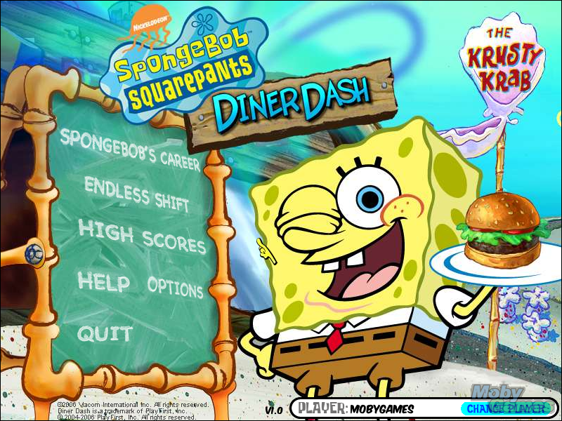 SpongeBob SquarePants: ダイナー, 食堂 Dash