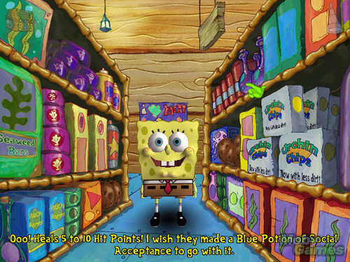 SpongeBob SquarePants: Employee of the bulan