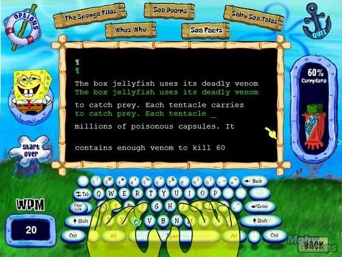 Spongebob Squarepants: Typing