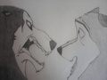 Steele vs. Balto - balto fan art
