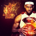 Superman LeBron James - miami-heat fan art