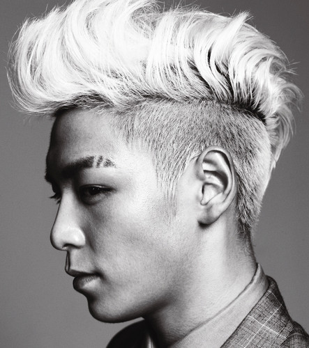 T.O.P for HIGH CUT (January 2011)