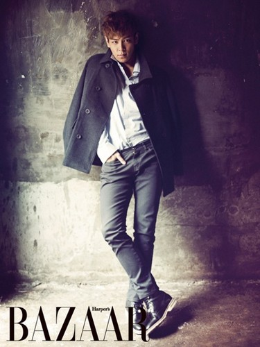 T.O.P for Harper's BAZAAR x Calvin Klein Jeans (2011)