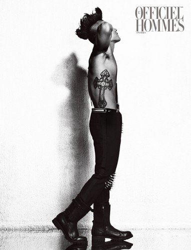 TAEYANG for L'OFFICIEL HOMMES (2012)