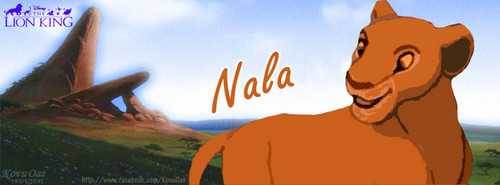 TLK Nala Lion Facebook cover