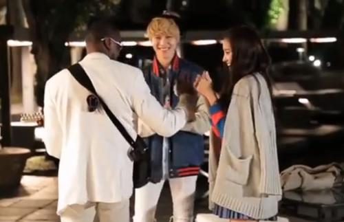 Taemin and Naeun