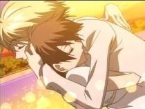 Tamaki and Haruhi <3