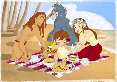 Tarzan and Jane's Family